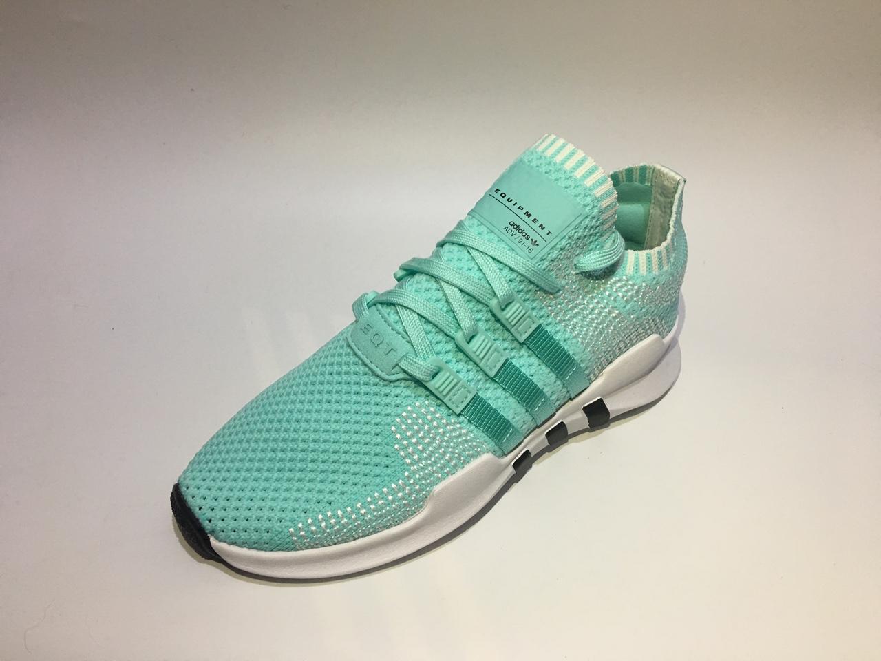 出阿迪三叶草高端EQT系列女款运动潮鞋,全新专柜正品低价出 商情交易